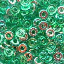 O Beads Emerald AB - 5 grams